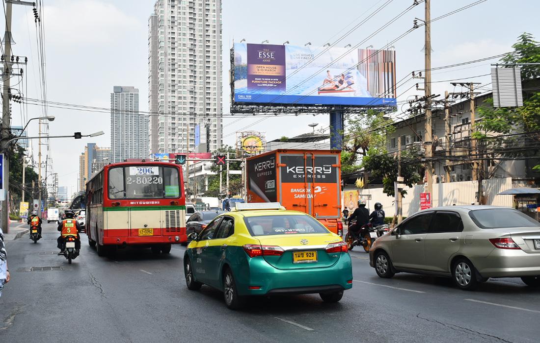 B194B ถนนเพชรบุรีตัดใหม่ เชิงสะพานข้ามแยกอโศก-เพชรบุรี